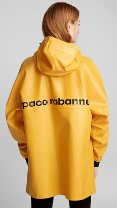 guy cotten paco rabanne rosbras raincoat