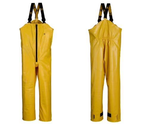 guy cotten armor bib trousers yellow pvc
