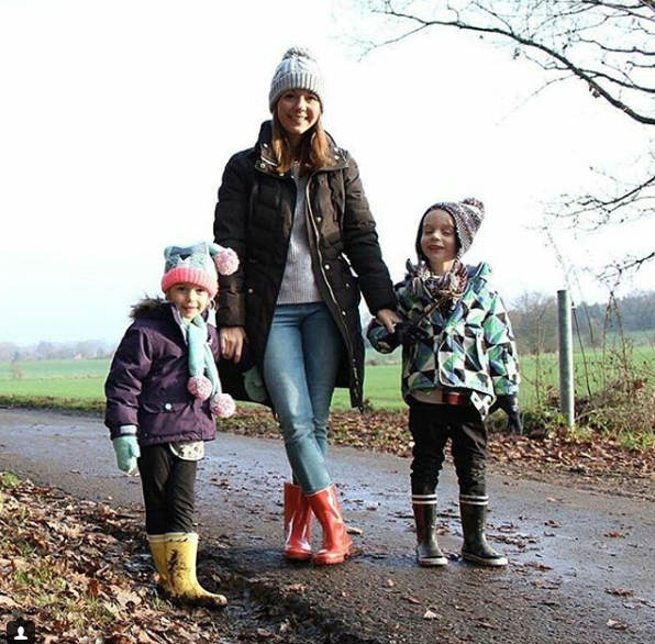 Aigle rubber rain boots from France mouline