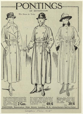 mackintosh advertisement 1918