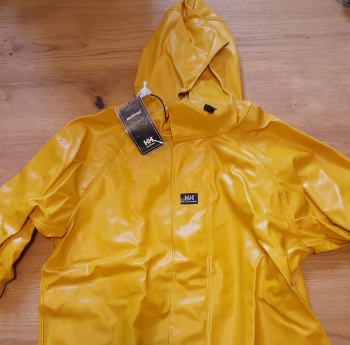 helly hansen nusfjord raincoat rainwear workwear