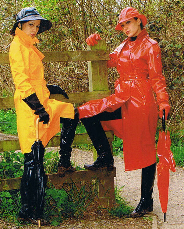 mackintosh pvc raincoat rainwear raingear