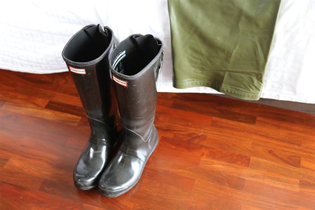 66North raingear from Iceland hunter boots