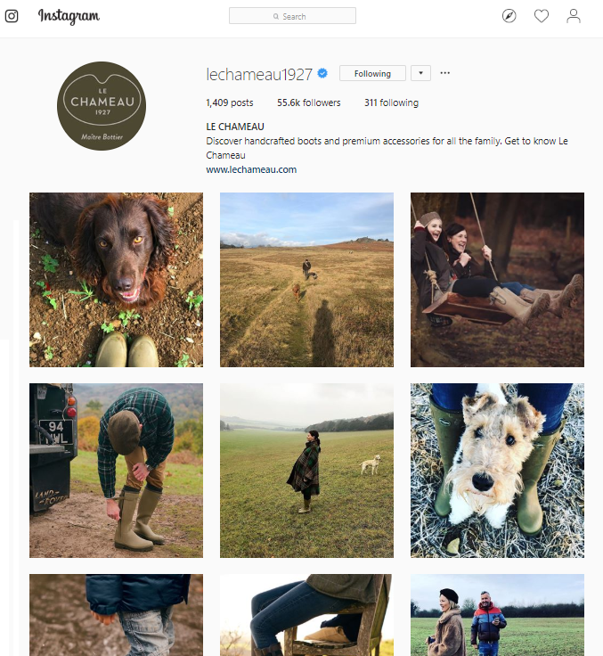le chameau instagram social media general overview