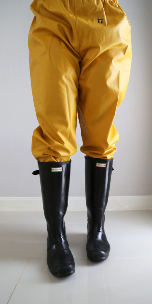 Guy Cotten rainwear PVC X-trapper pouldo jacket pants rainsuit raingear from France