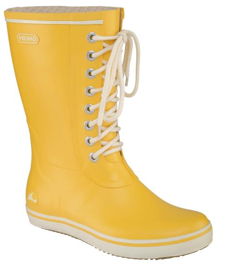 viking footwear retro rubber rainboots