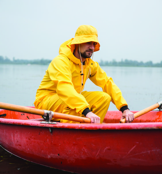 AJ Group rainwear from poland raingear pvc