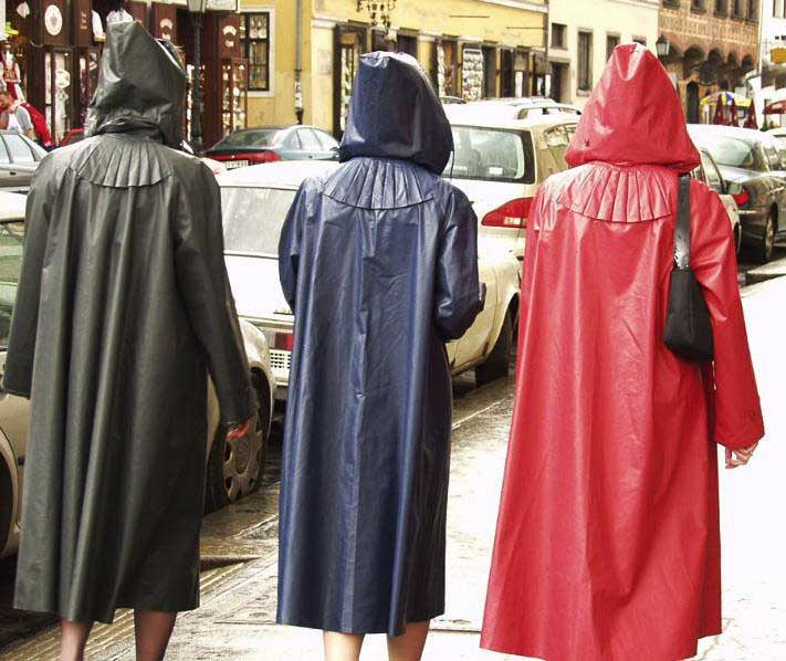 klepper raincoats in different colours