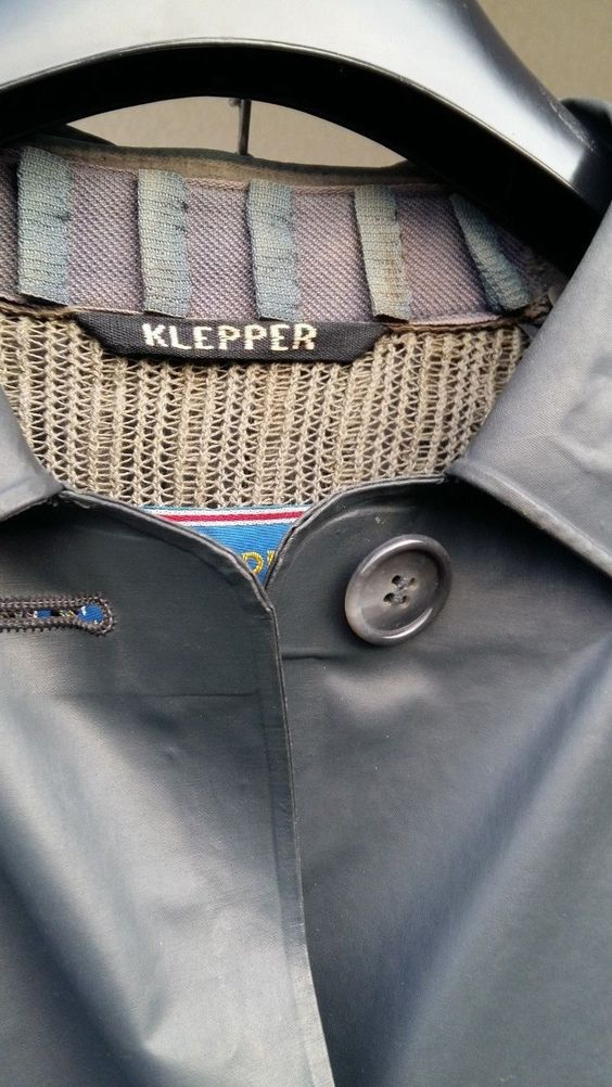 klepper raincoat mantel rubber raincoat