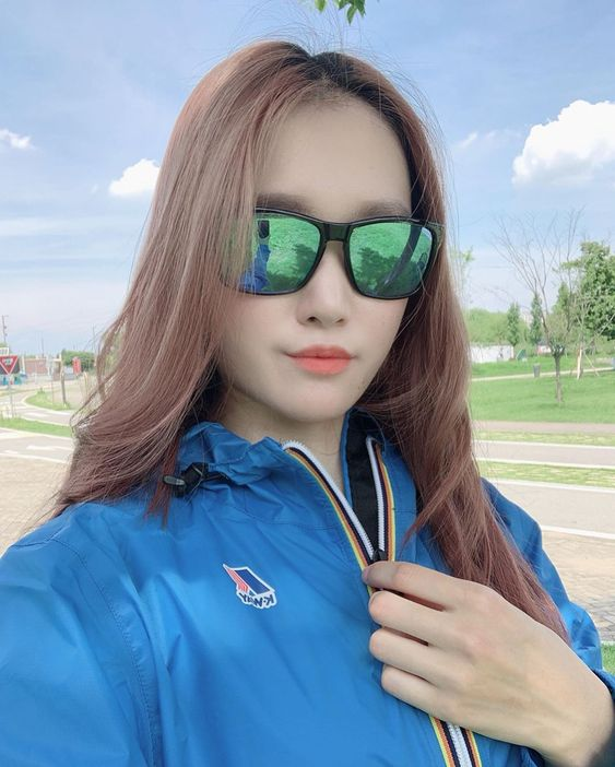 kway cagoule asia blue