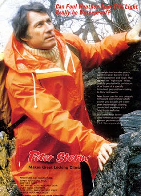 vintage peter storm mountaineering advertisement cagoule